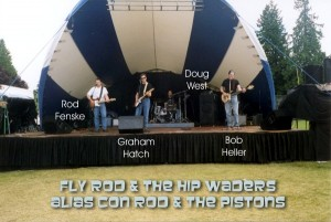 Fly Rod and the Hip Waders play Canada Day 2001